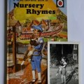 The Ladybird Book of Nursery Rhymes, and a photograph of Digby the Cat courtesy Peter Hampson