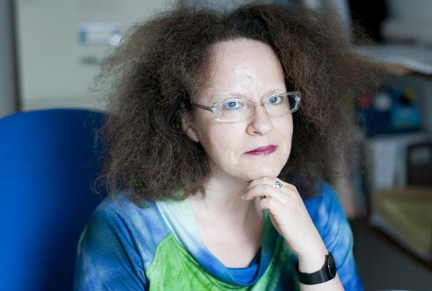 Visual Cultures lecturer Astrid Schmetterling
