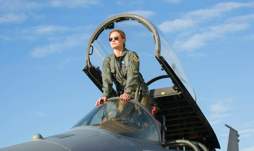 Brie Larsen in Captain Marvel
