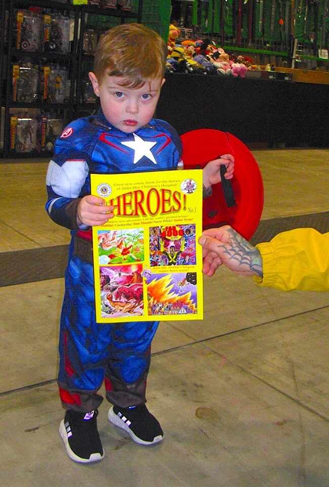 iHeroes! Launch at Liverpool Comic Con 2019