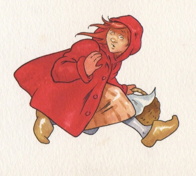 Heroes! magazine  -Red Riding Hood