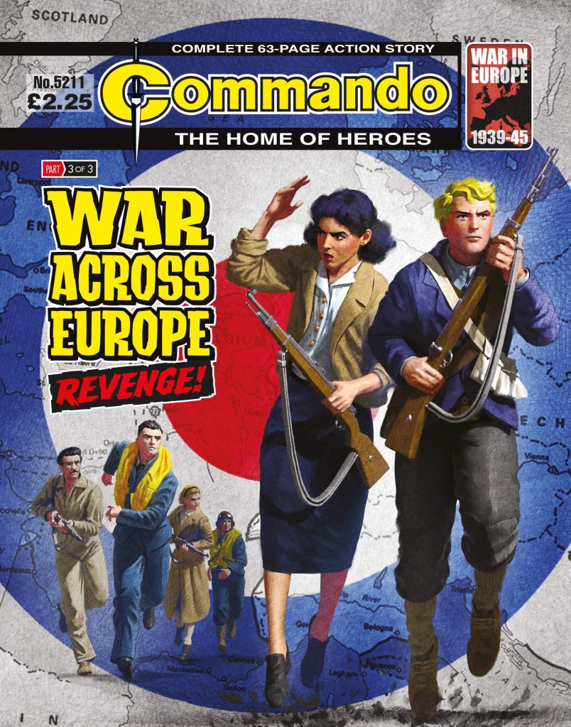 Commando 5211: Home of Heroes: WAR ACROSS EUROPE: Revenge!