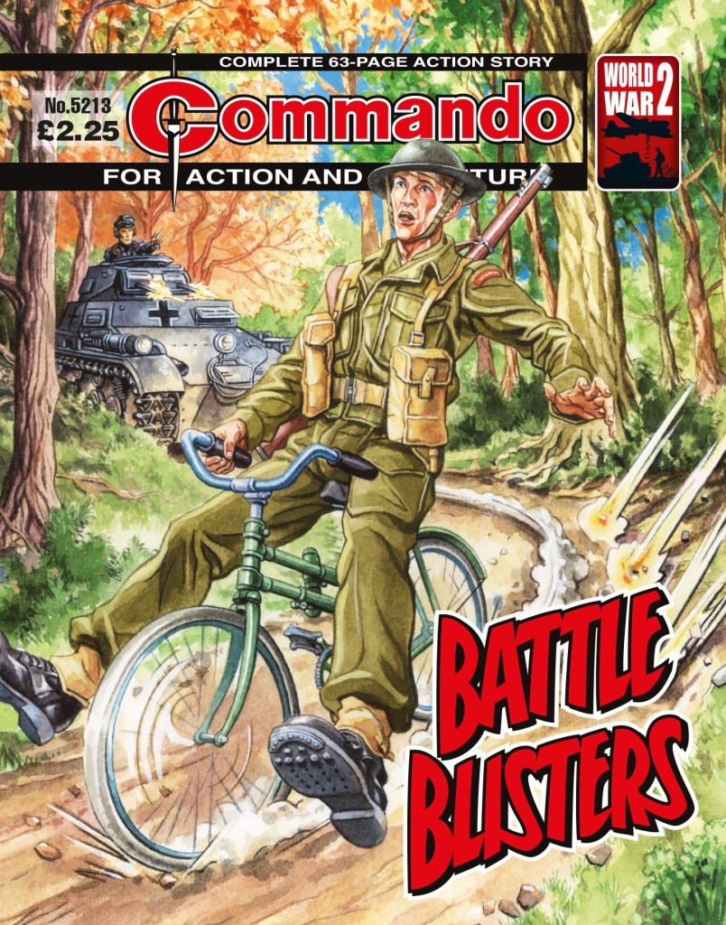 Commando 5213: Action and Adventure: Battle Blisters