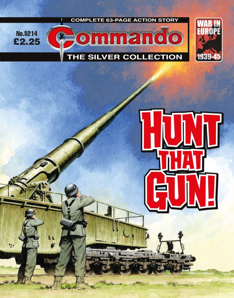 Commando 5214: Silver Collection: Hunt that Gun!