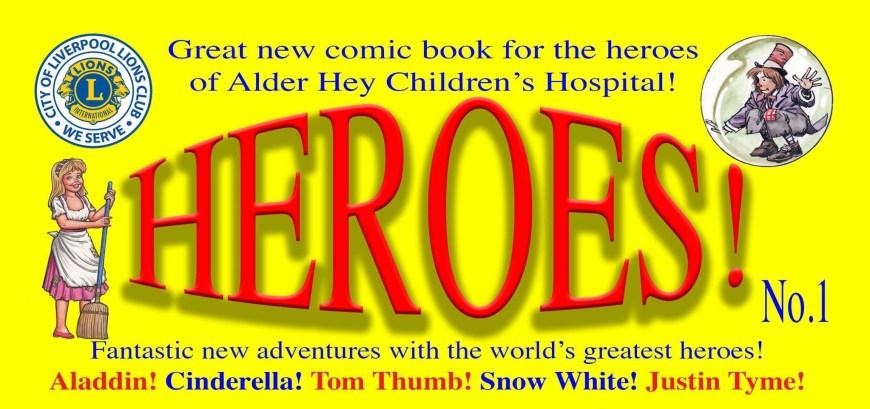 Heroe! magazine Promotion