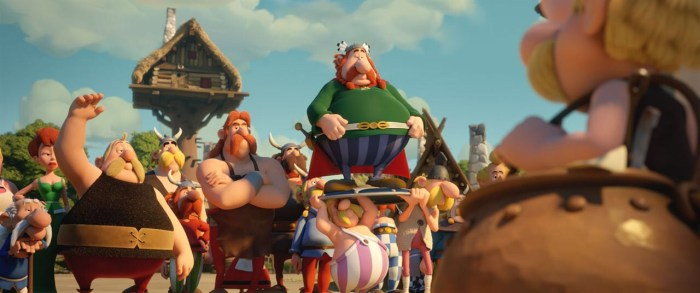 "A scene from ""Asterix and the Magic Potion"", released in 2018"