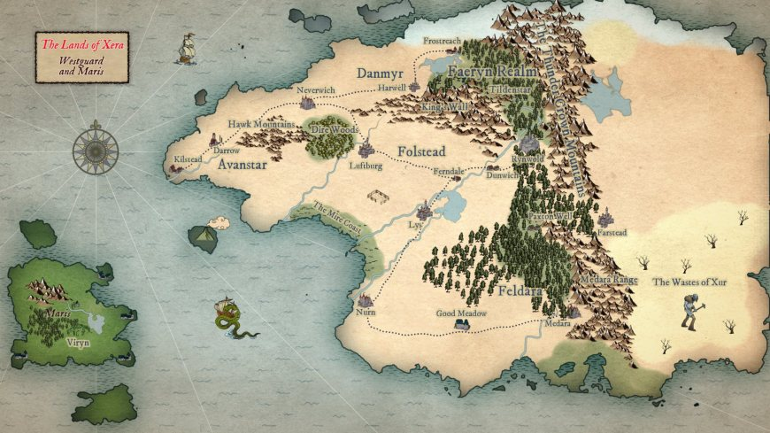Work in Progress: James Hudnall posted this unfinished Age of Heroes map on 3rd April 2019