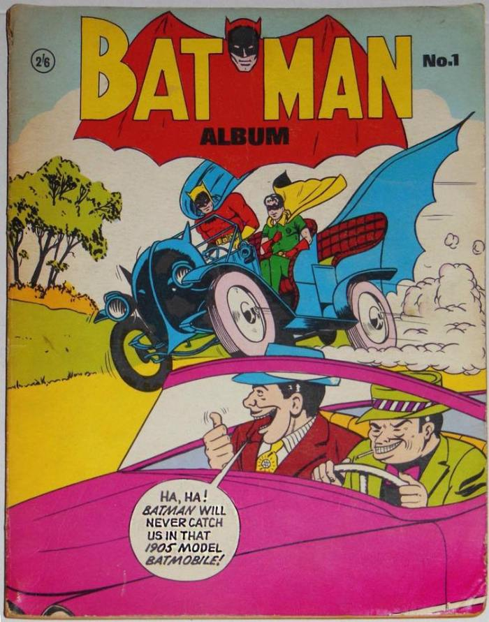 An early 1960s UK Batman Album 1