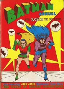 The first Batman annual to appear in the UK, in 1959