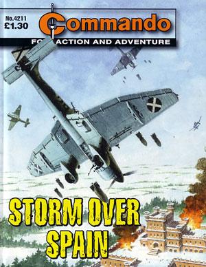 Commando: Storm over Spain