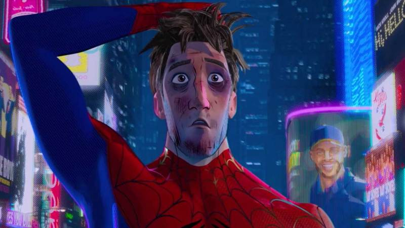 Spider-Man Into The Spider-Verse exclusive for Official Film Chart Show