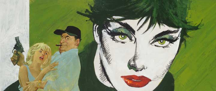 Heritage Auctions offers Star Trek, Modesty Blaise art in upcoming aution