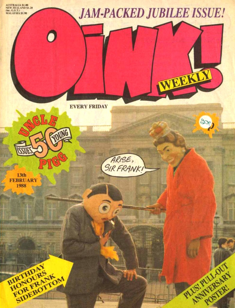 Oink Issue 50 - Cover