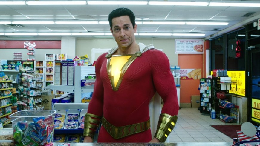 Zachary Levi in Shazam! Image: Warner Bros Entertainment