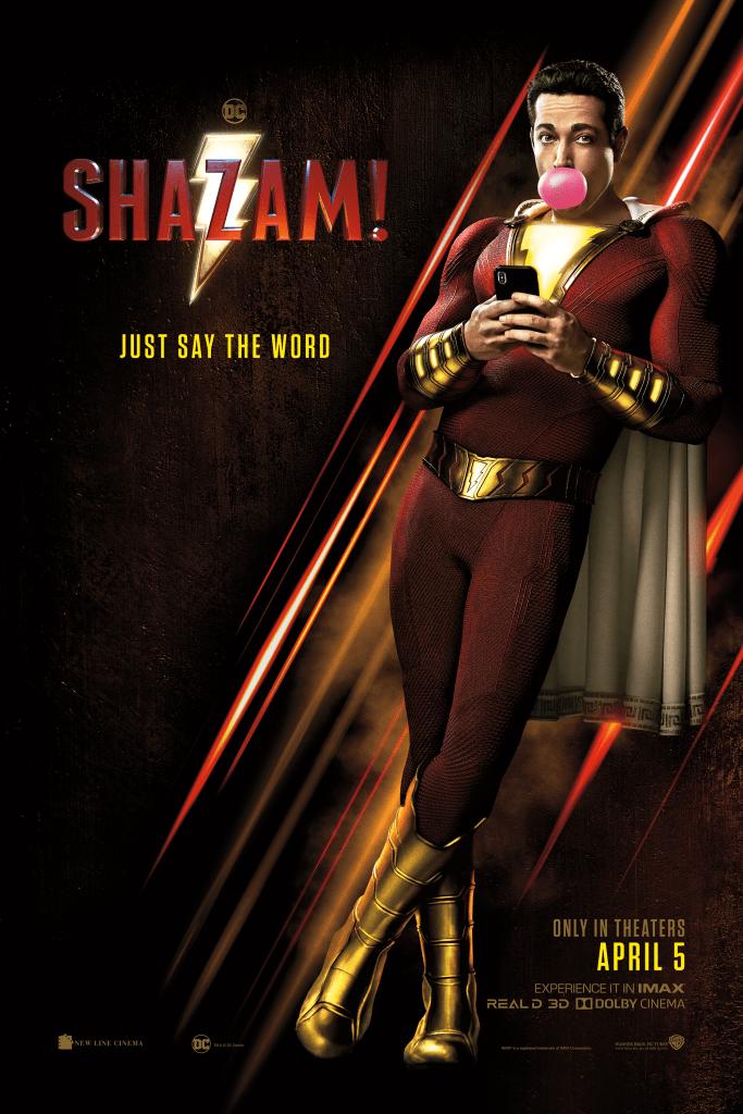 Shazam! Movie Poster 2019