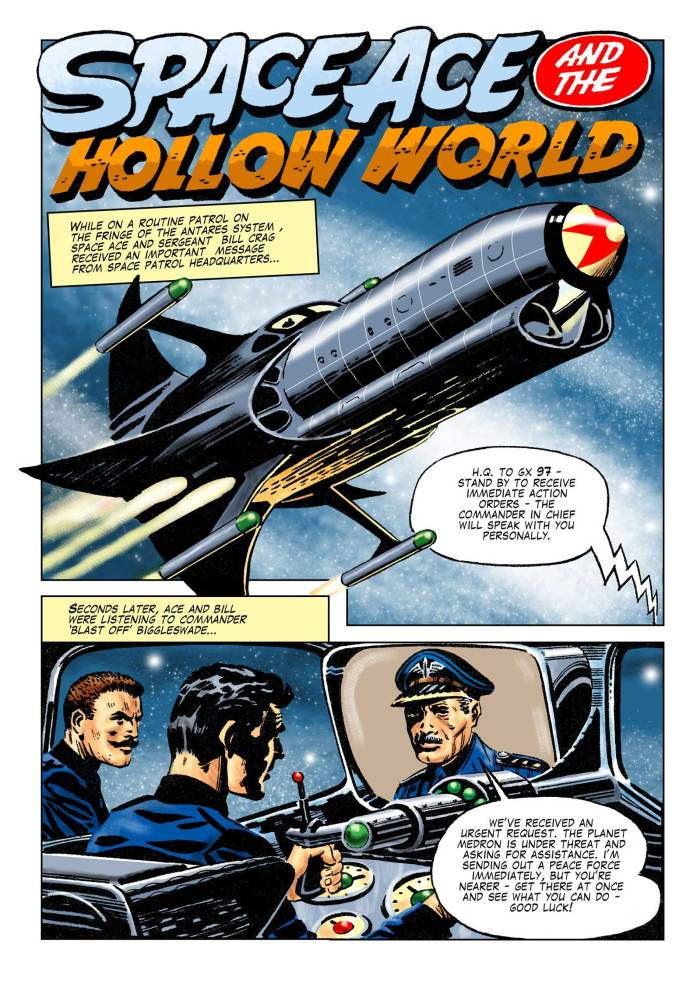 Space Ace Issue 12 - Hollow World