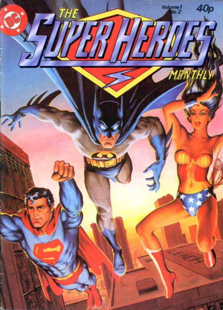 The Superheroes Monthly Issue Two - cover by Garry Leach