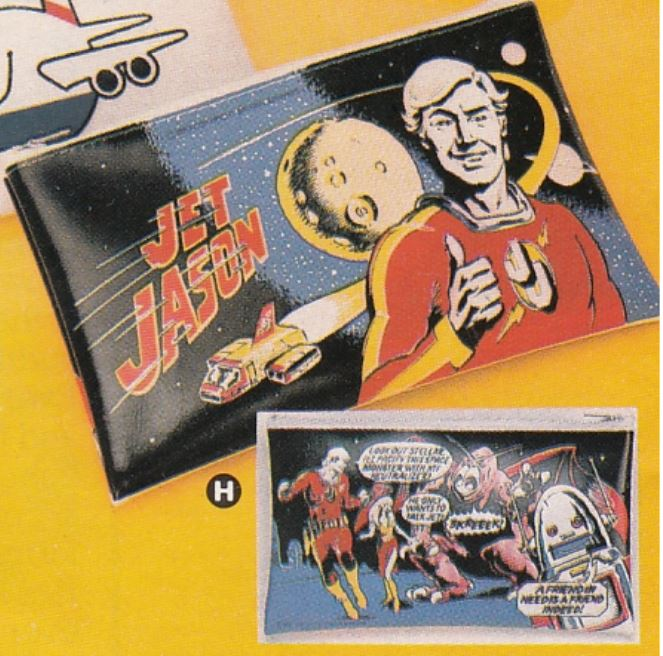 Fleetwings Winter 1983 - Jet Jason Wallet Ad BLOW UP