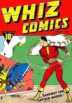 Whiz Comics #1 - Cover