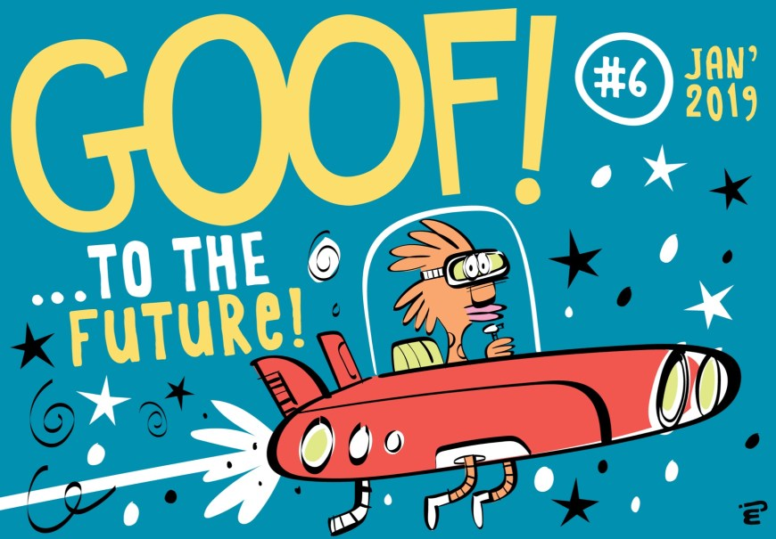 GOOF! Comic #6 cover by Marc Jackson