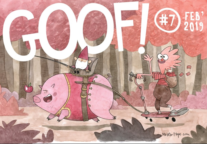 GOOF! Comic #7 cover by Mister Hope