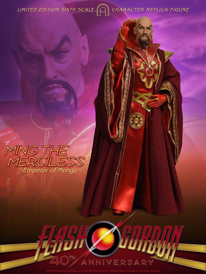 BIG Chief Studios Flash Gordon Figure - Ming the Merciless