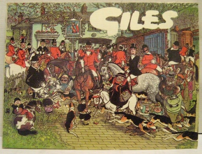 The cover of the 1981 Giles Annual