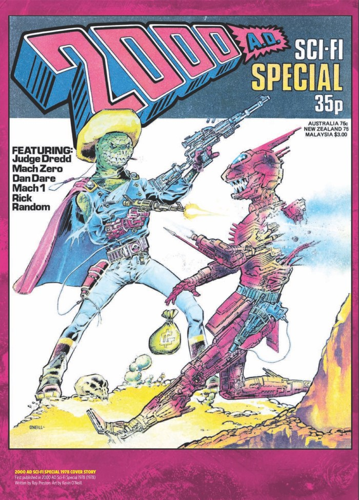 1978 2000AD Sci FI Special Cover by Kevin O'Neill