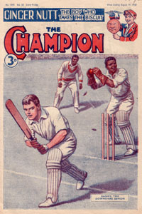 The Champion 1490 - Cover by Ronald Simmons