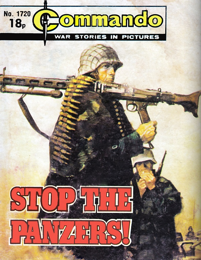 Commando 1720 - Stop the Panzers Cover by Jordi Longaron