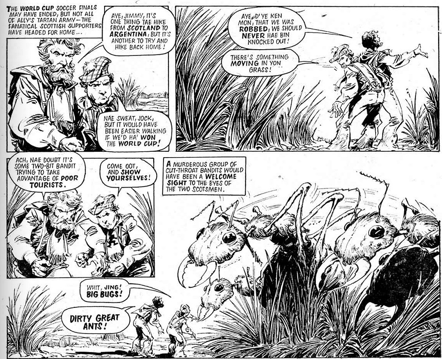 Comics Inspiration: How Celebrities have inspired the look of some Comic Characters Part 3: 2000AD Edition
