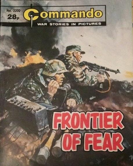 Commando 2200 - Frontier Of Fear Cover by Jordi Longaron