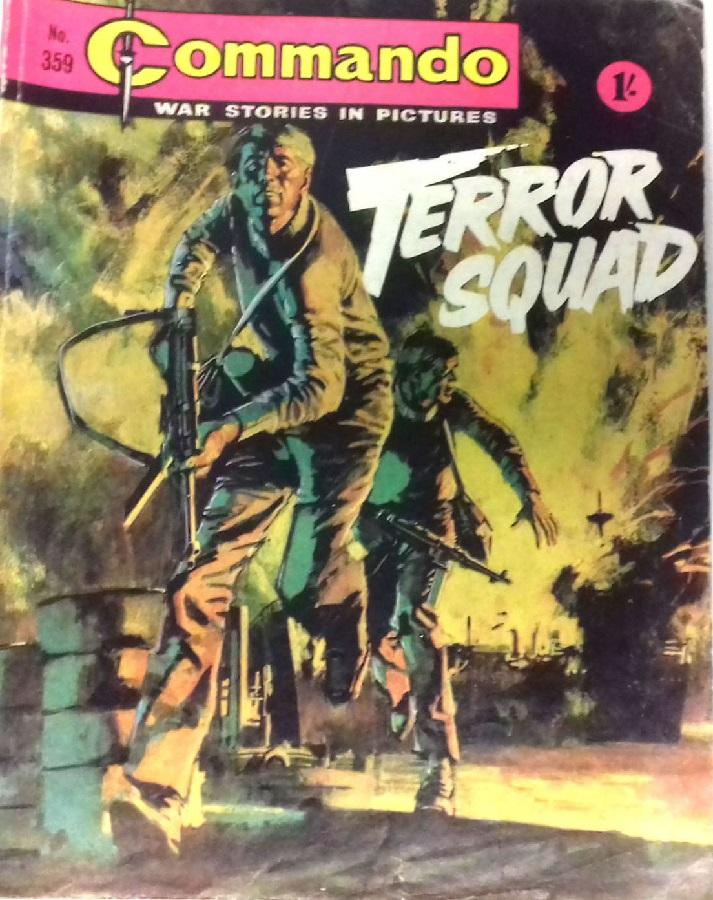 Commando 359 - Terror Squad