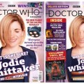 Doctor Who Magazine Issue 539 - the regular and WHSmith Exclusive editions side by side (With thanks to Lew Stringer)