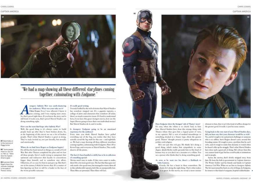 Avengers: Endgame - The Official Movie Special - Chris Evans