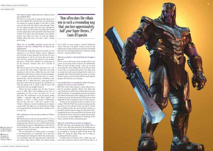 Avengers: Endgame - The Official Movie Special - Esposito - Thanos