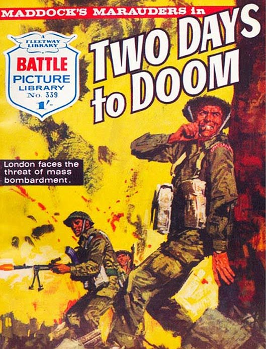 Battle Picture Library Volume 1 Issue 339, cover by Jorge Longaron