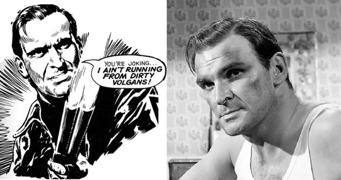 Bill Savage and Stanley Baker
