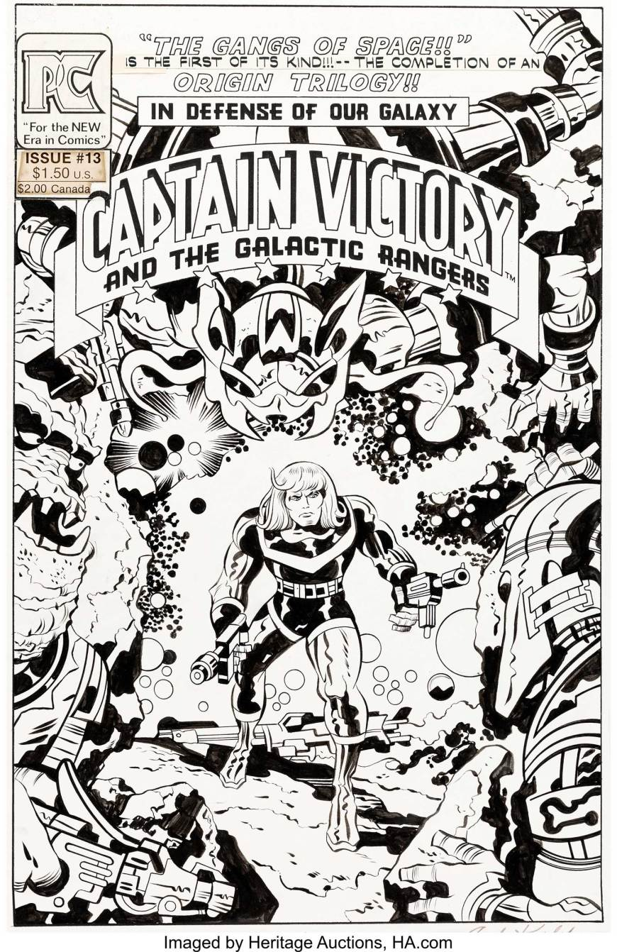 Captain Victory and the Galactic Rangers#13 - Jack Kirby