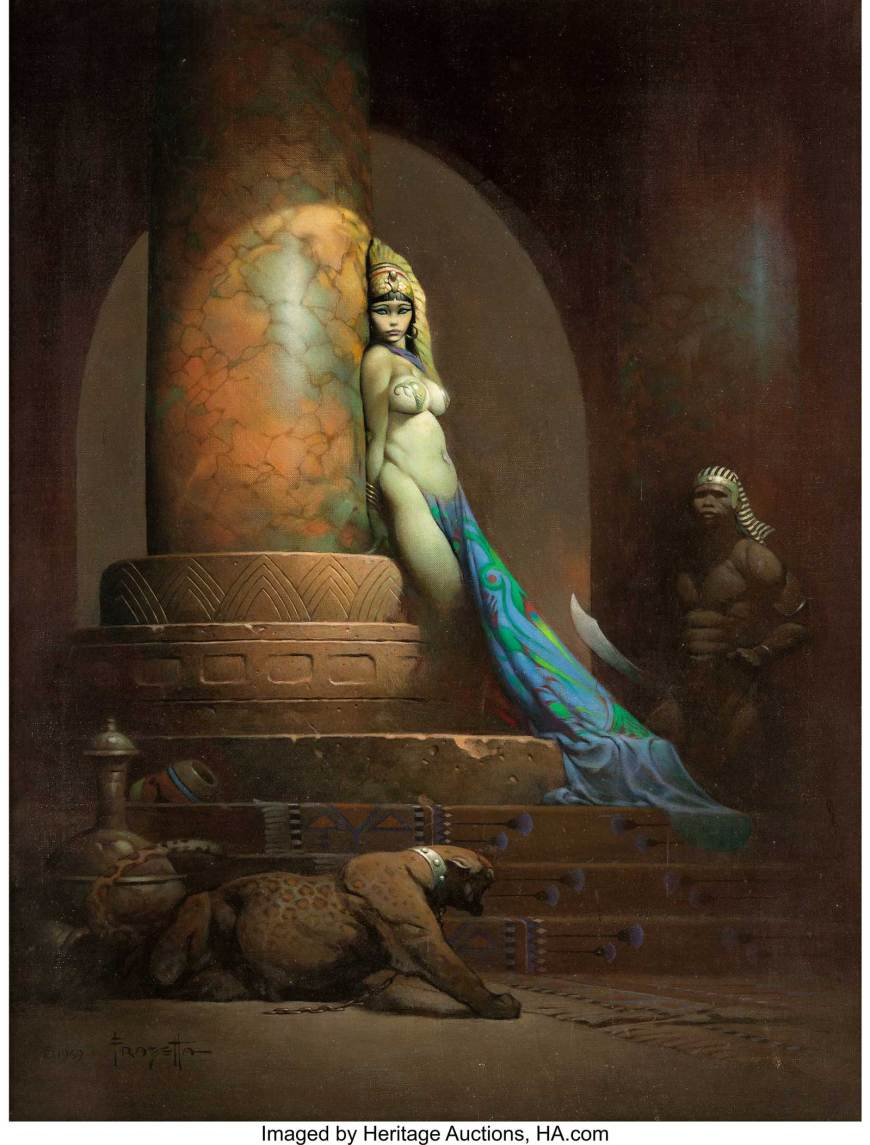 Frank Frazetta - Egyptian Queen