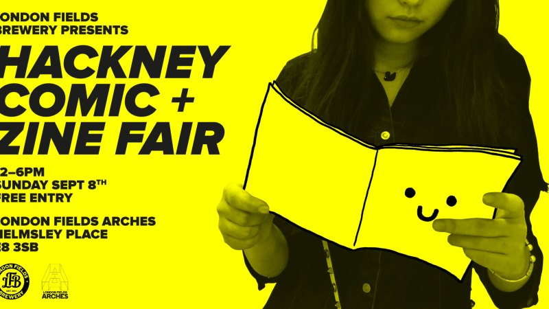 First Hackney Comic + Zine Fair announced for September