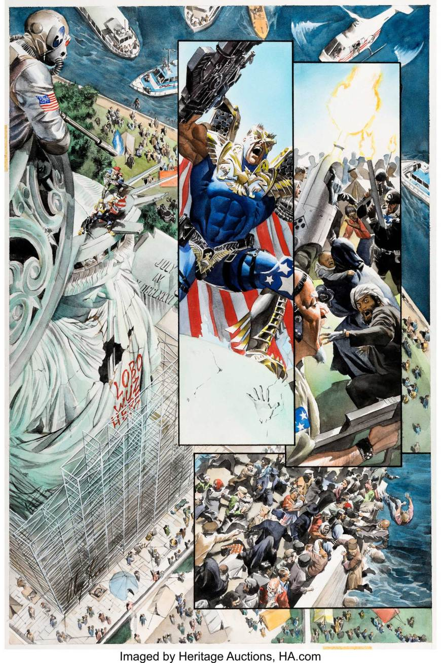 Kingdom Come #2 by Alex Ross - Page 3