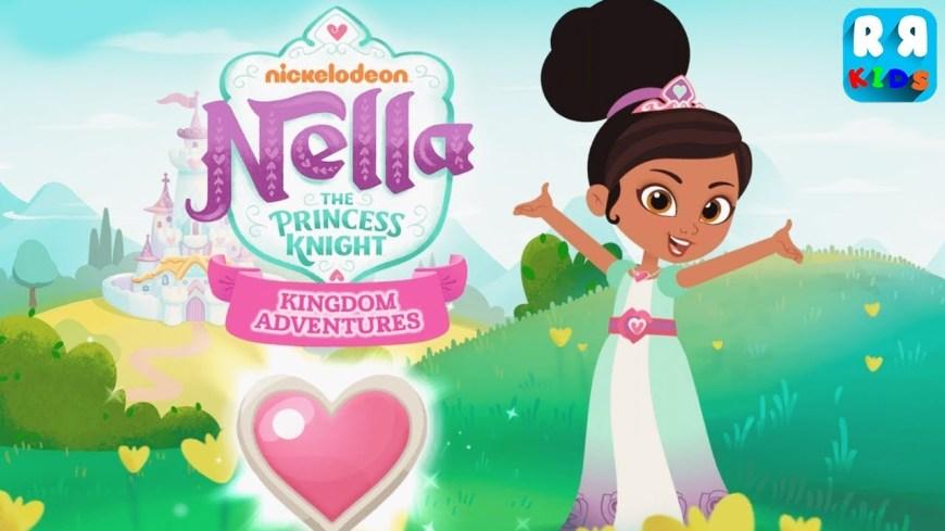 the Nella the Princess Knight: Kingdom Adventures app has had 2.5 million downloads