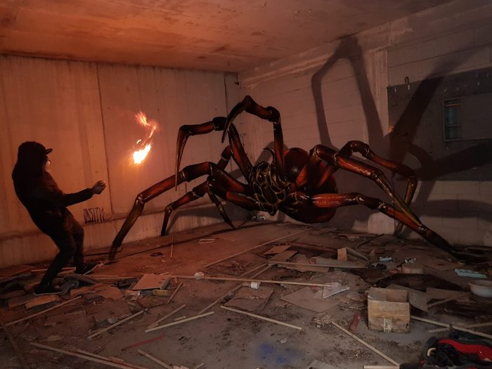 Odeith and spider. Image: Odeith Official Site