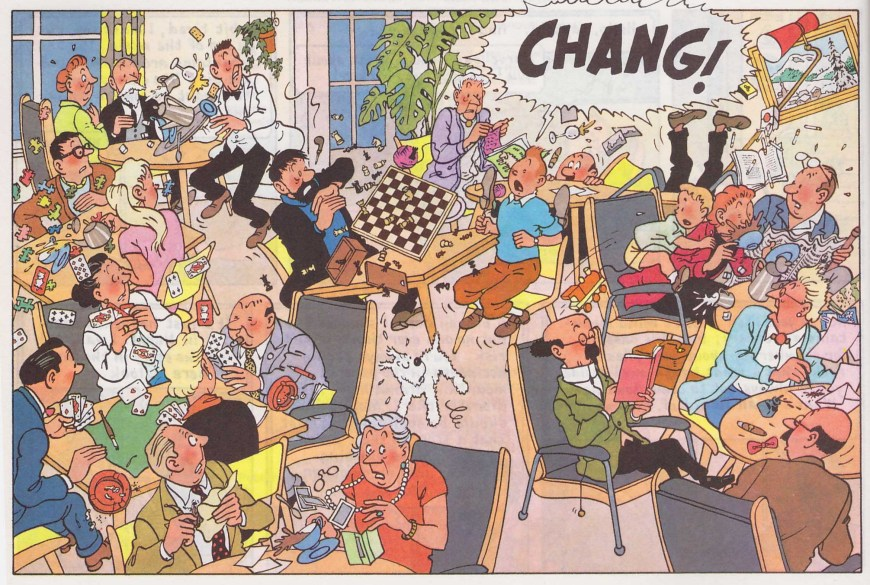 Tintin - Chang!