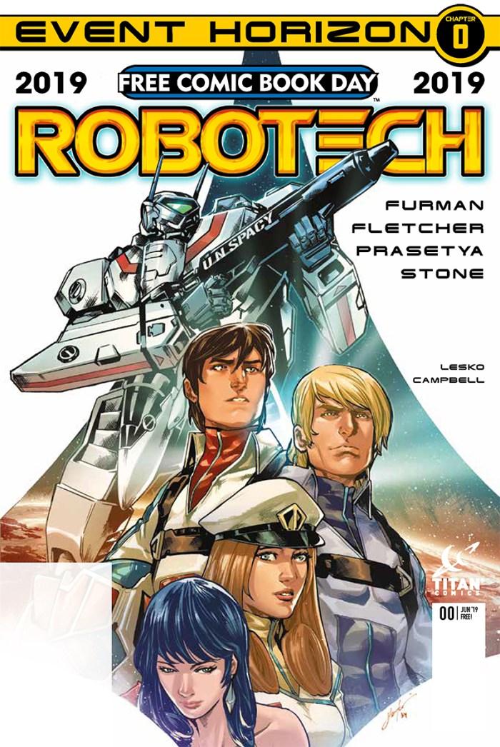 Robotech - Free Comic Book Day 2019