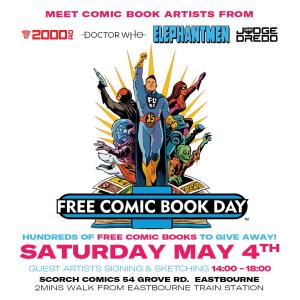 Scorch Comics - Free Comic Book Day 2019