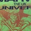 United Kingdom Comic Art Convention Marvel UK Booklet Cover SNIP