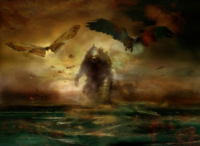 Godzilla: King of the Monsters Concept Art
