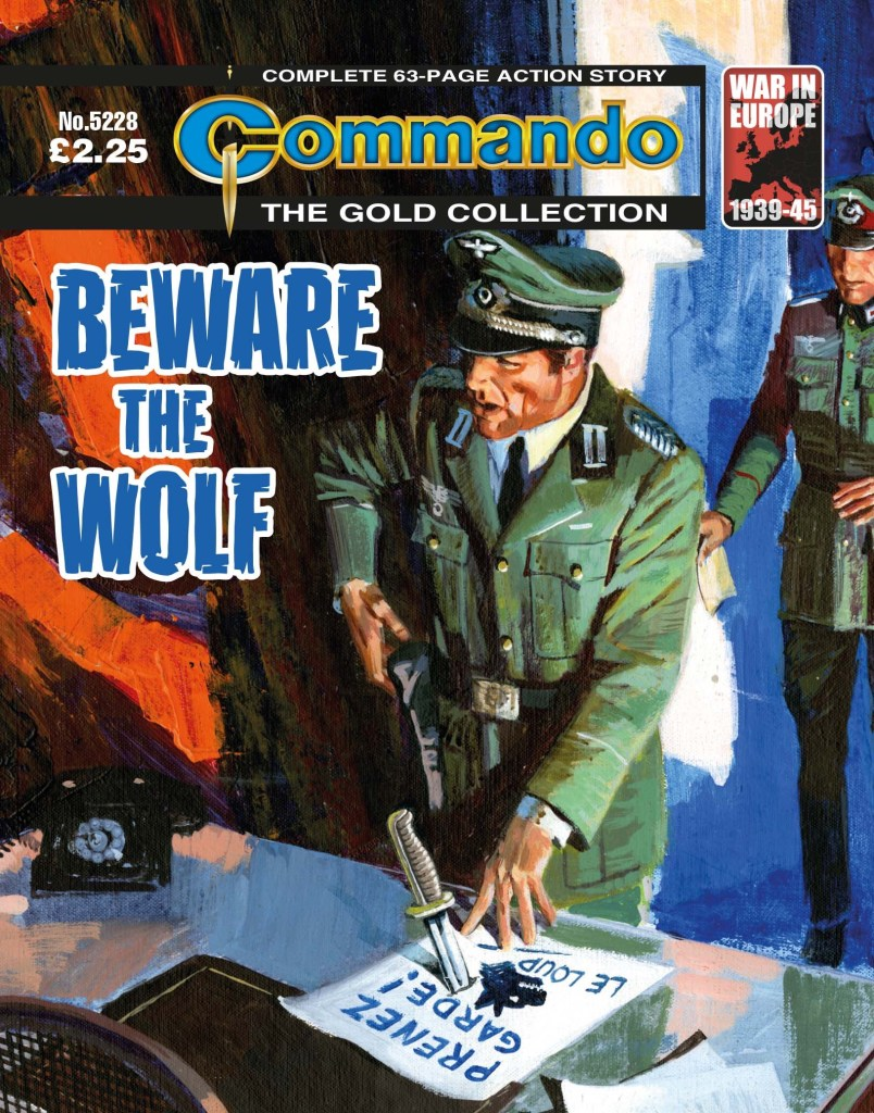 Commando 5228 - Gold Collection: Beware the Wolf